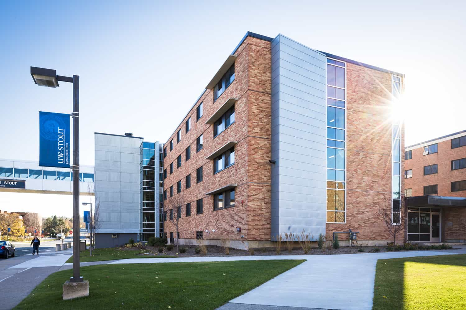 University of Wisconsin-Stout McCalmont Residence Hall