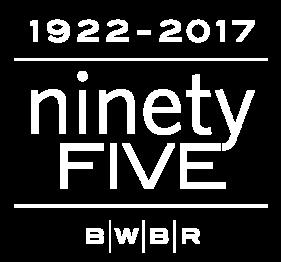 BWBR 95th anniversary logo