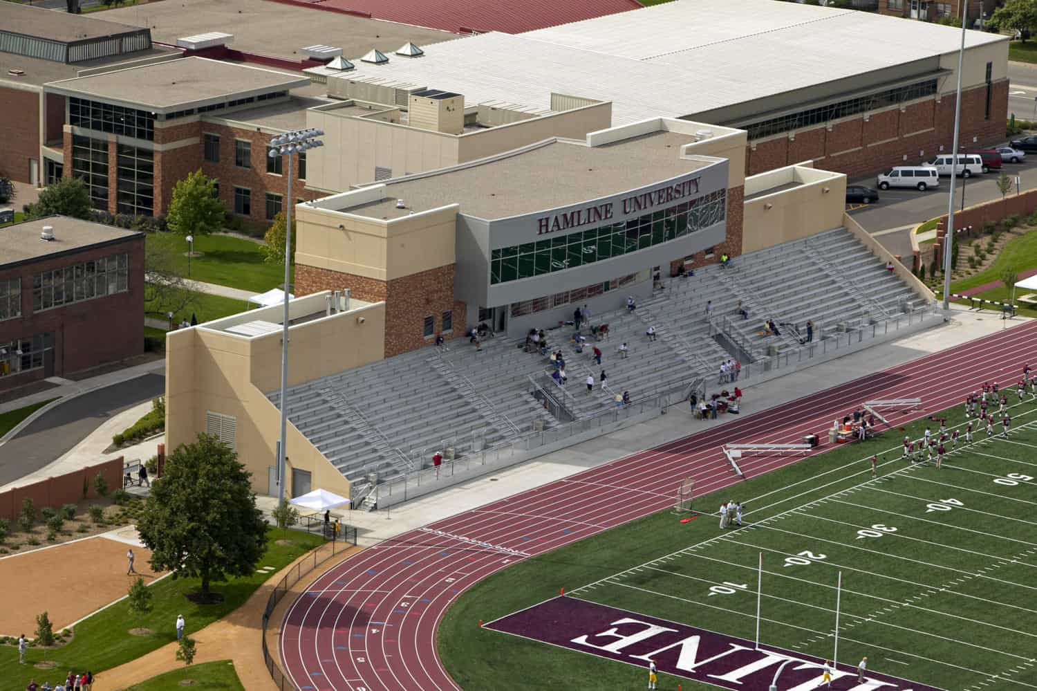 HAMLINE UNIVERSITY KLAS STADIUM & EVENTS CENTER