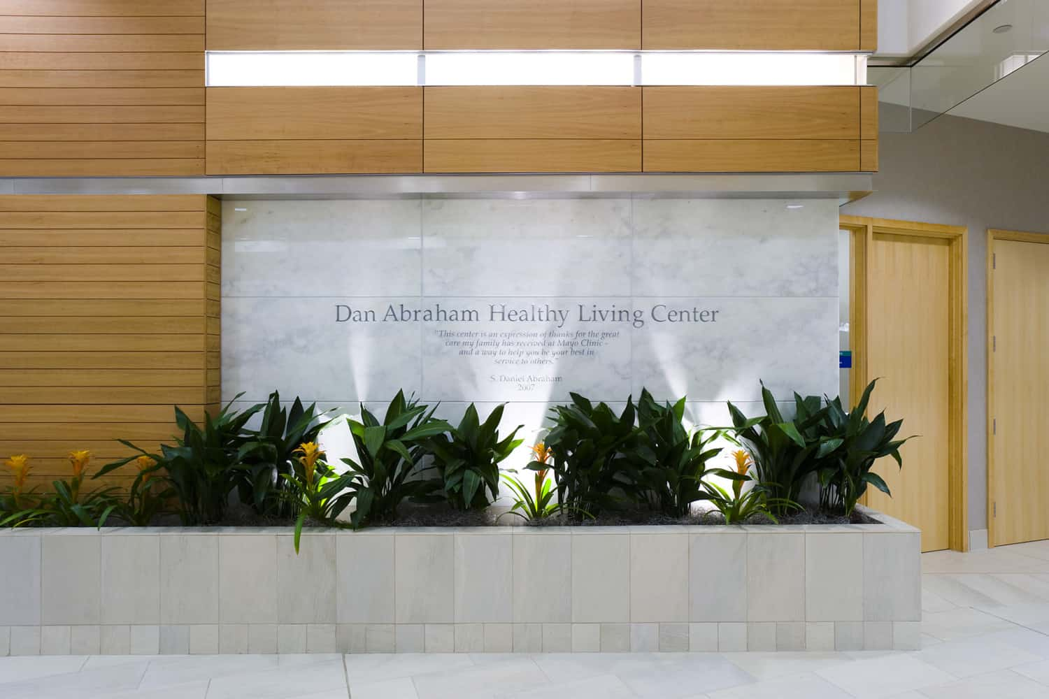 MAYO CLINIC DAN ABRAHAM HEALTHY LIVING CENTER