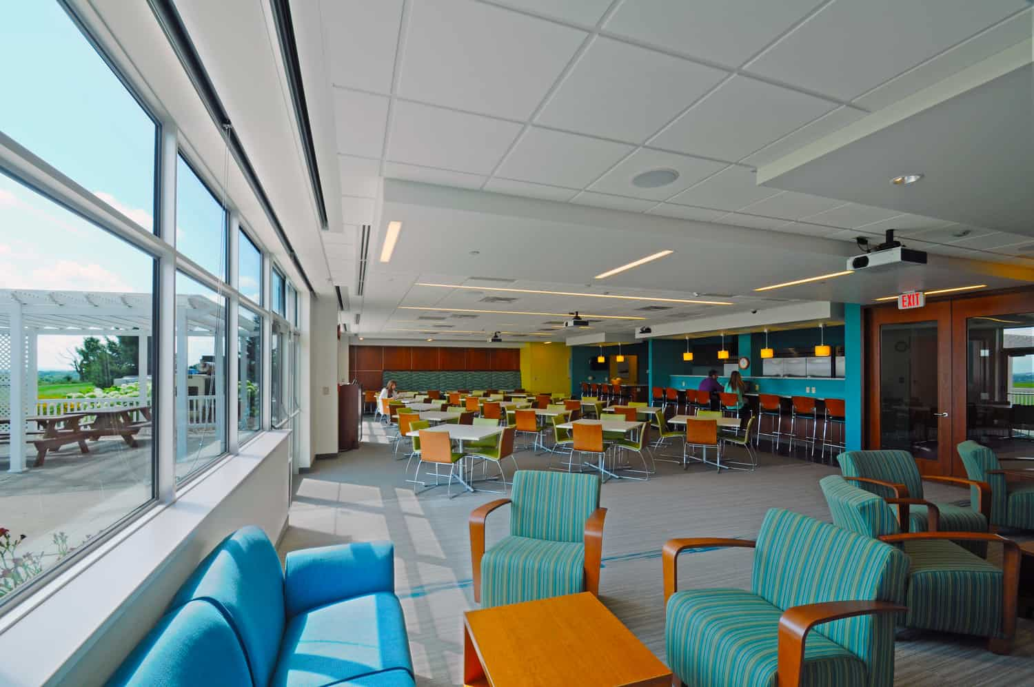 SECURITY HEALTH PLAN OF WISCONSIN CORPORATE COMMONS RENOVATION