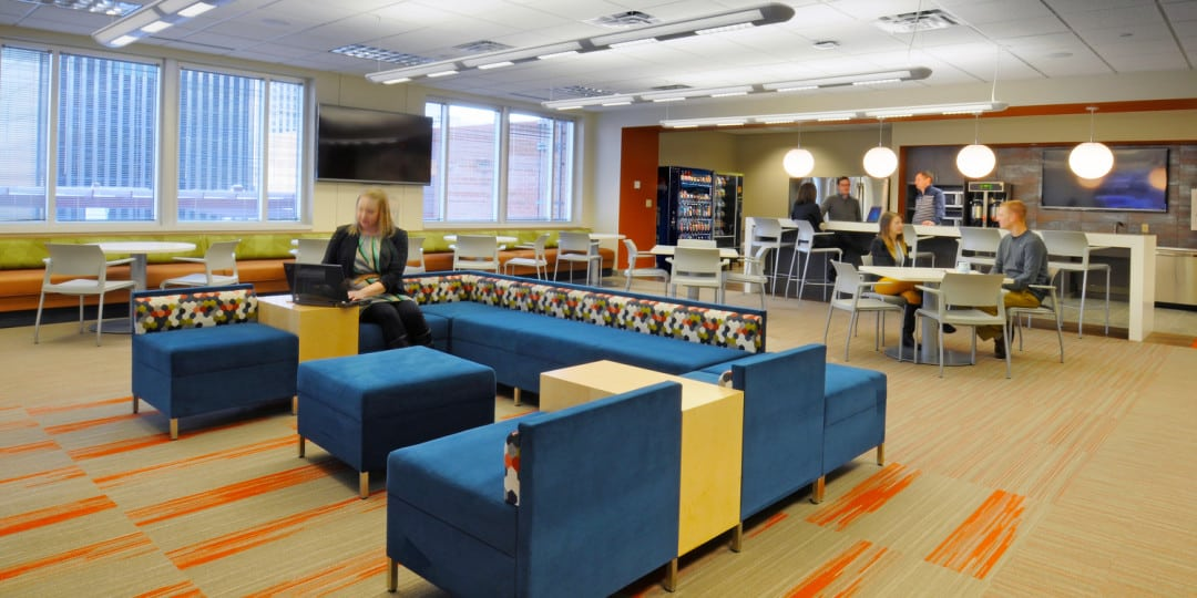 Bremer Bank Corporate Office work cafe