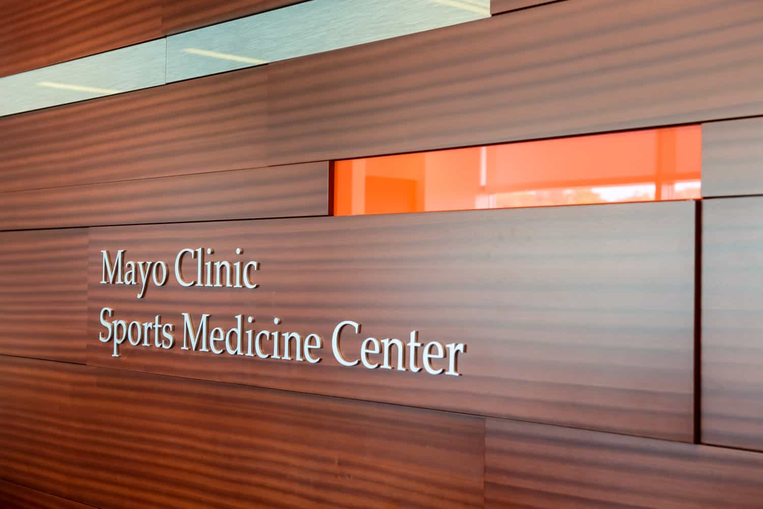 Mayo Clinic Sports Medicine Center