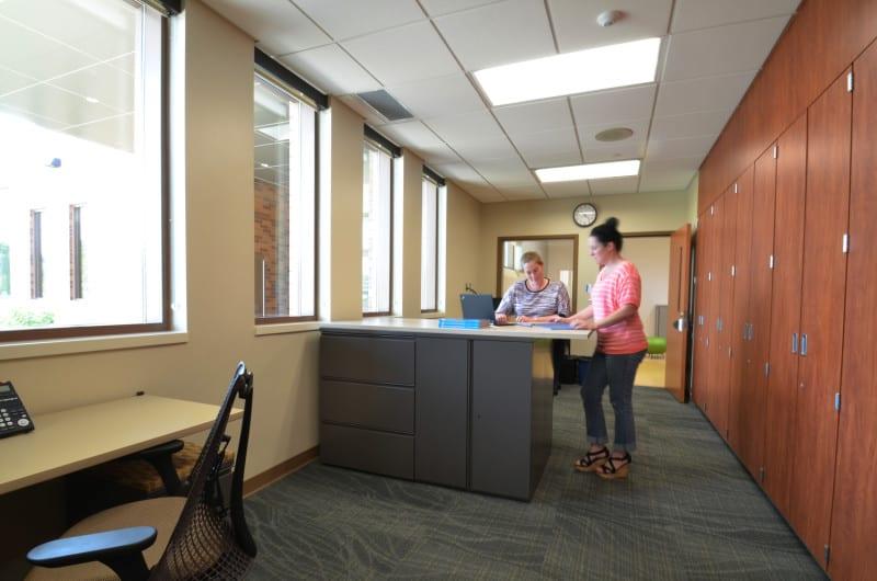 Karner Blue Education Center shared teacher office