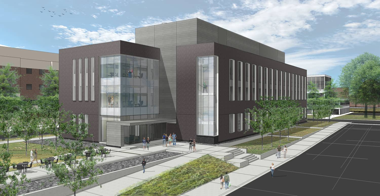 University of Minnesota-Duluth Chemistry and Advanced Materials Science Building