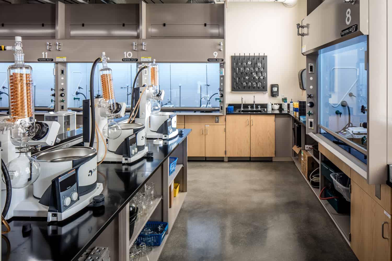 Carroll University Michael & Mary Jaharis Science Laboratories