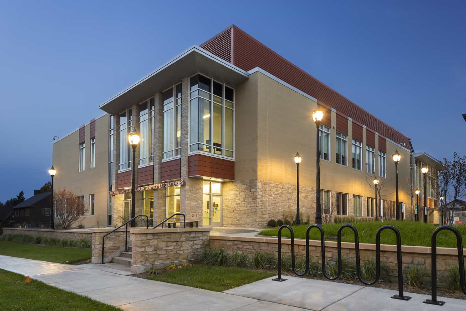 Carroll University Michael & Mary Jaharis Science Laboratories