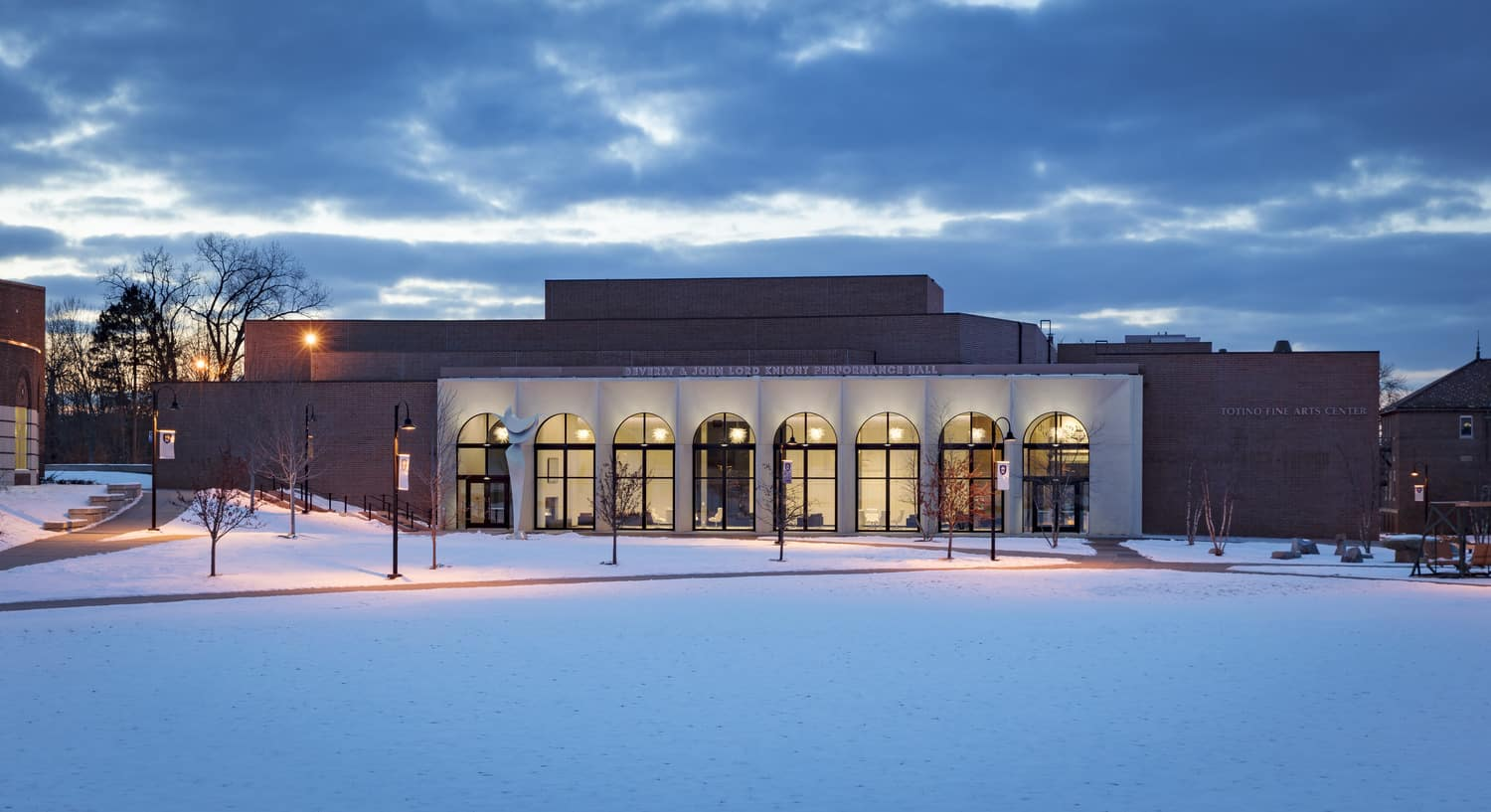 University of Northwestern Lord Knight Performance Hall