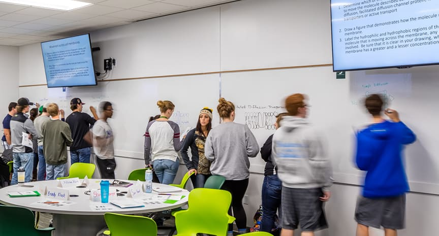North Dakota State University STEM Classroom Active Learning