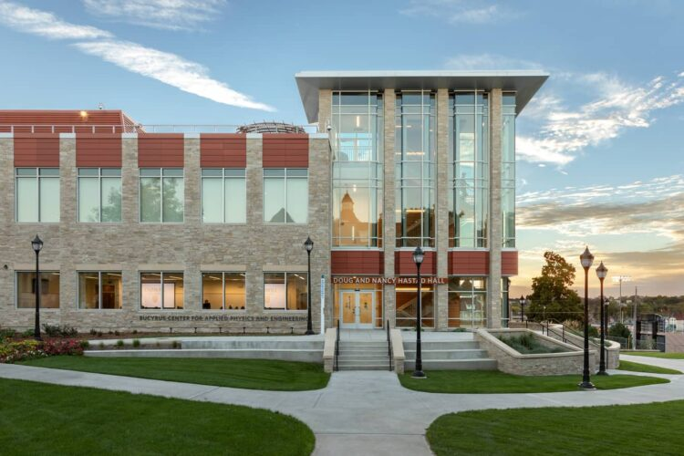Carroll University Doug and Nancy Hastad Hall