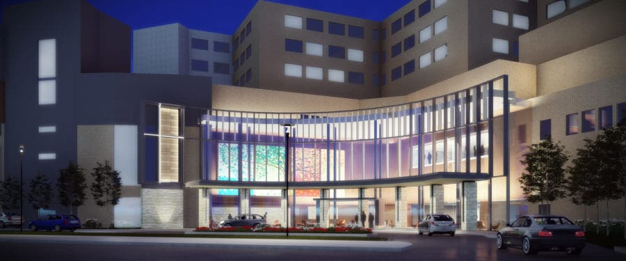 Trinity Mercy Medical Center-Sioux City ED, Surgery, Parking Schematic Design Study
