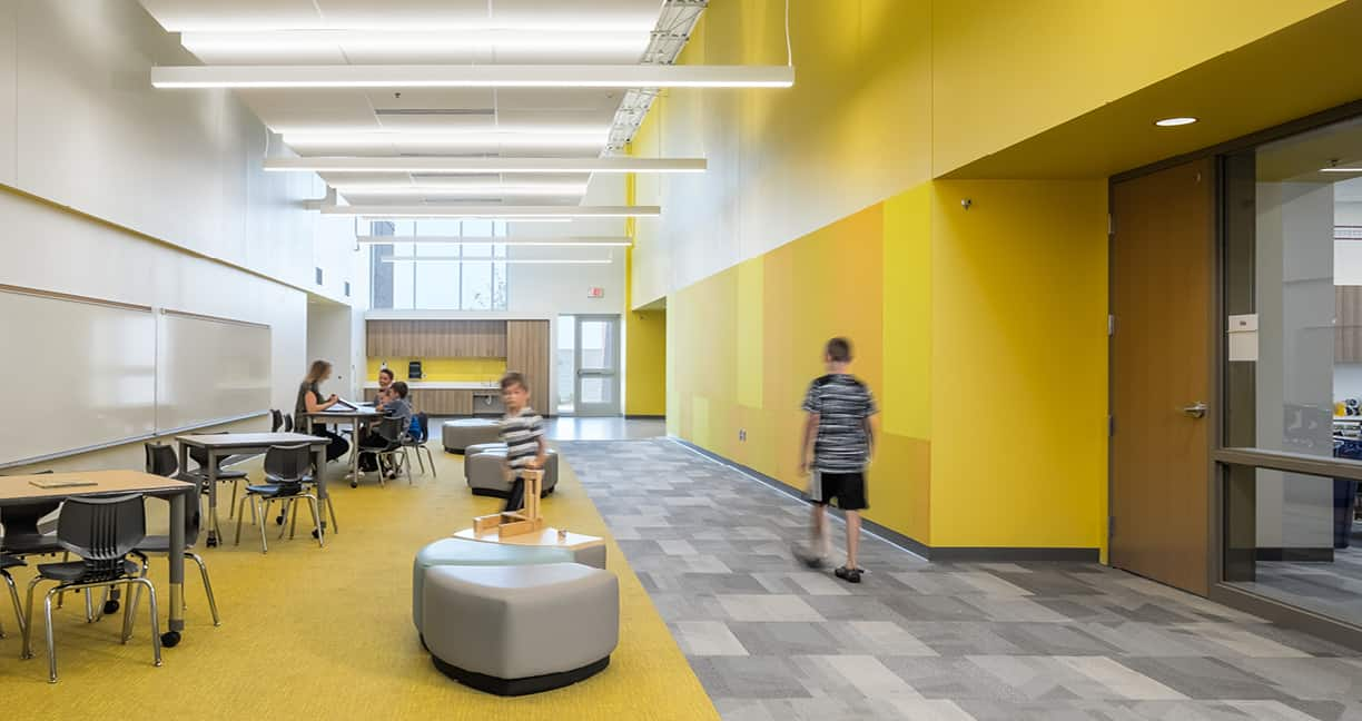 Brookview Elementary School Learning Commons