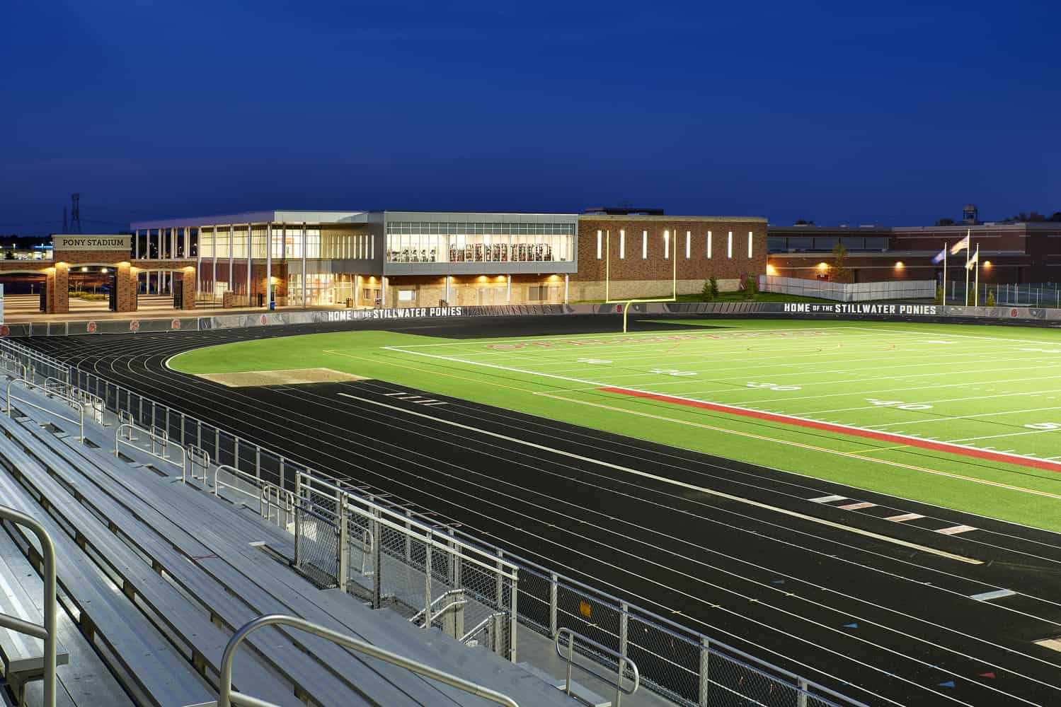 Stillwater Area High School Pony Activity Center and Pony Stadium