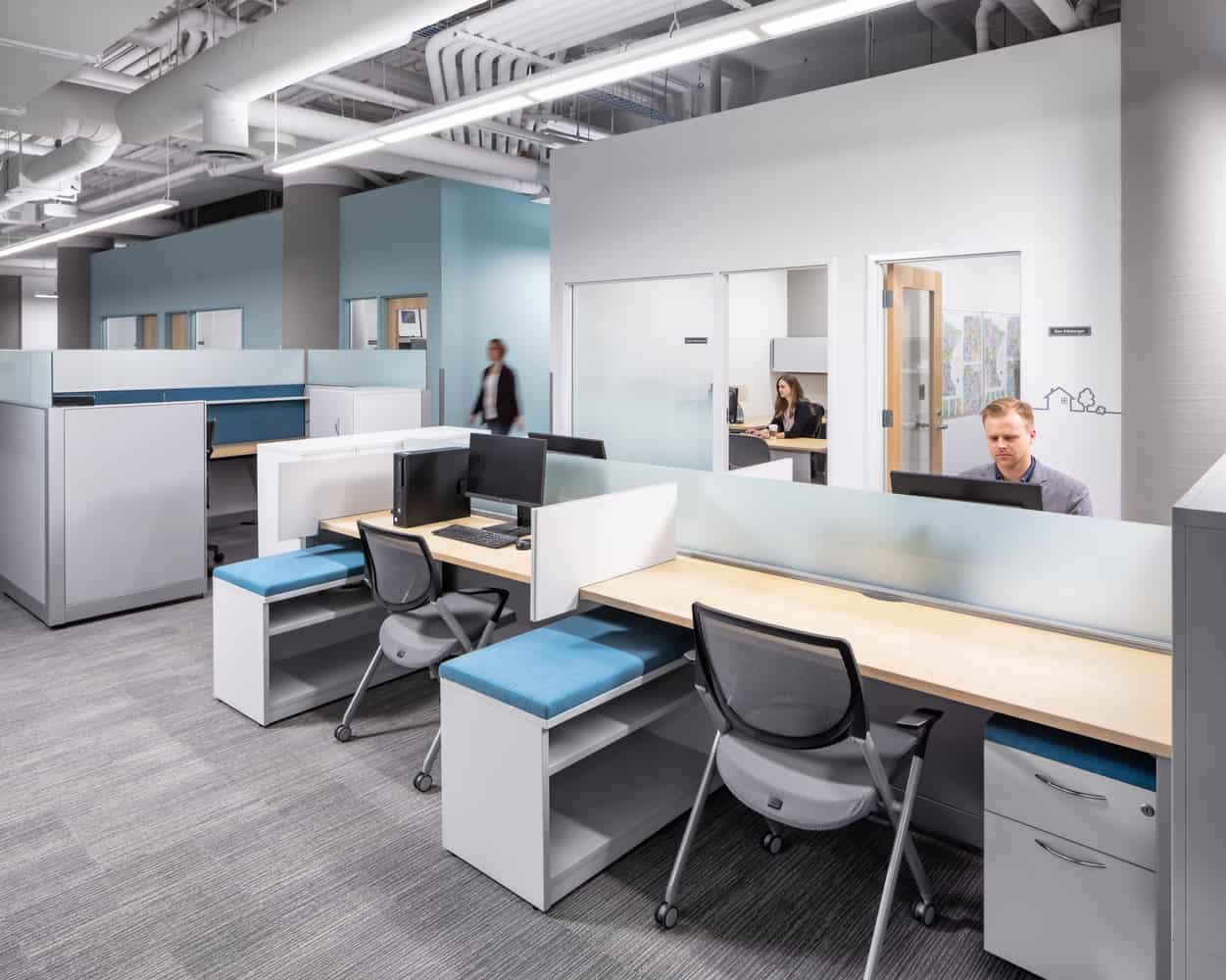 Minnesota Housing Finance Agency Office Renovation