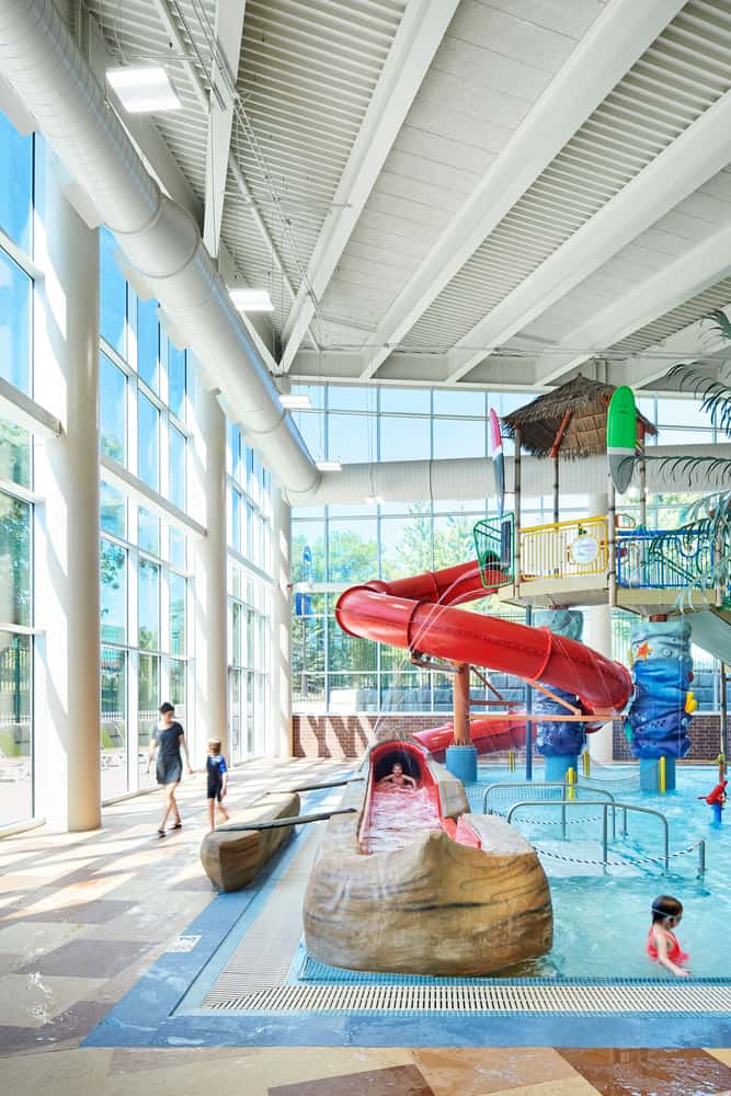 Shoreview Community Center Bamboo Bay Slide