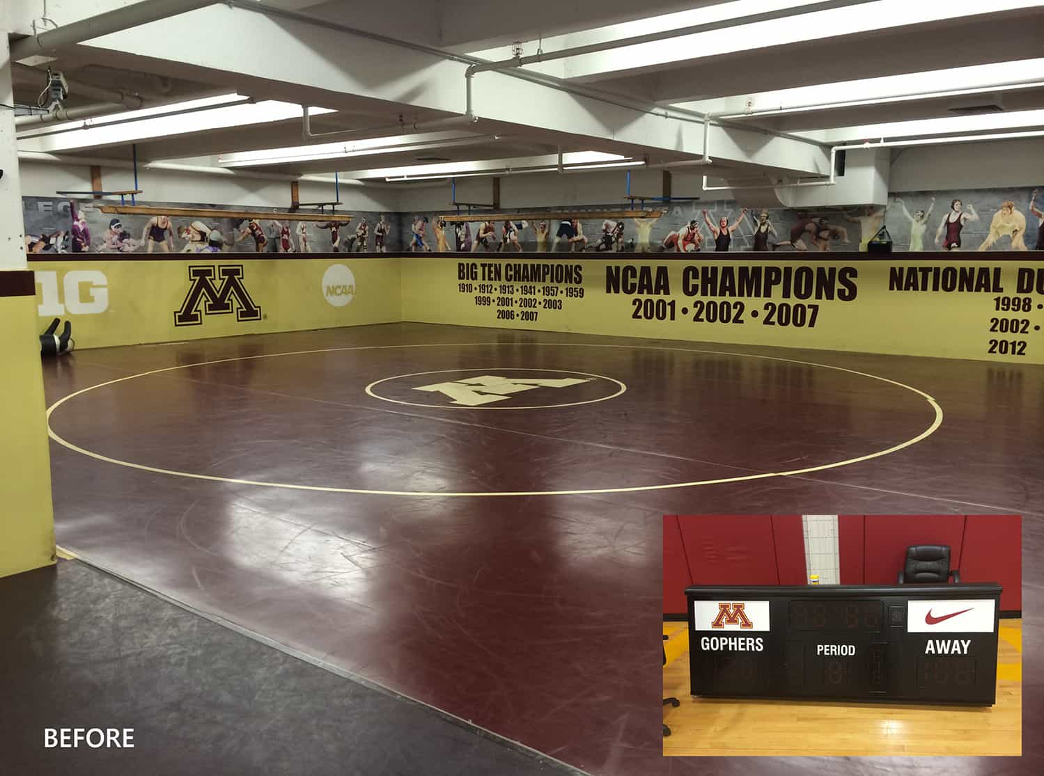 Previous University of Minnesota Training Facility