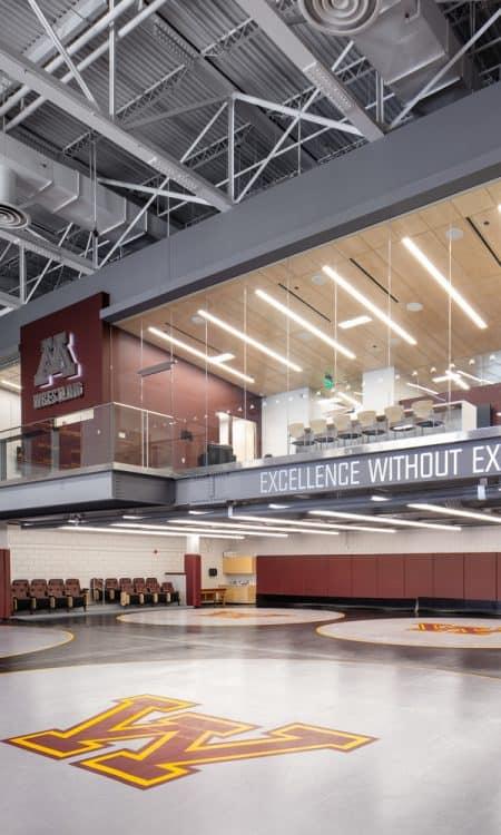 University of Minnesota Gopher Wrestling Training Facility