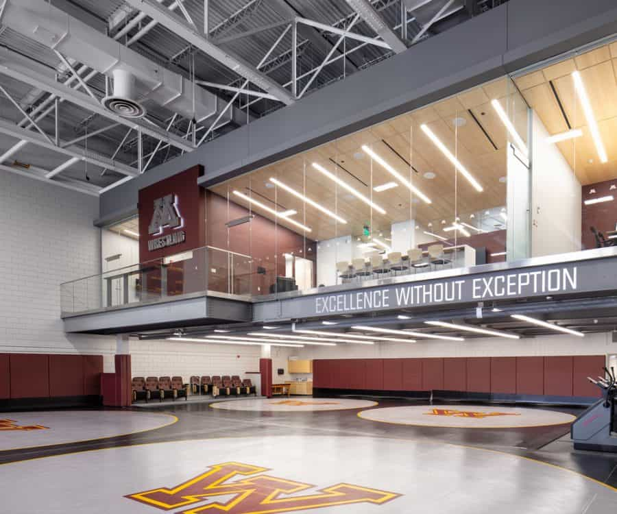 University of Minnesota Gopher Wrestling Training Facility