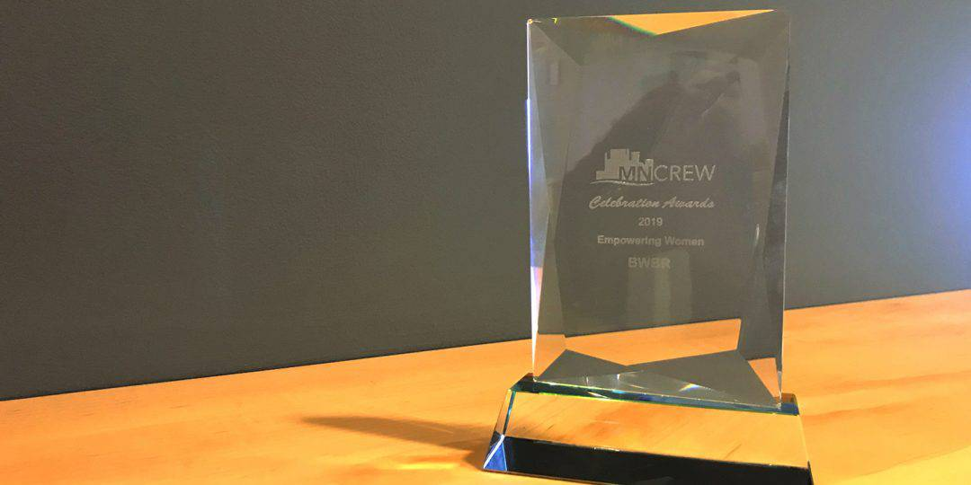 MNCREW honors BWBR with Empowering Women Award
