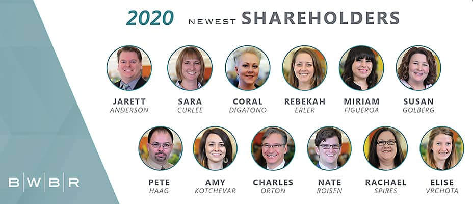 BWBR new 2020 shareholders