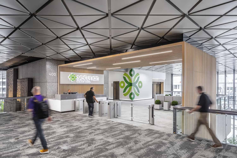 Securian Financial Cafe, Patio, and Skyway Lobby