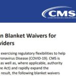 Image for CMS Blanket Waiver for Health Care Providers