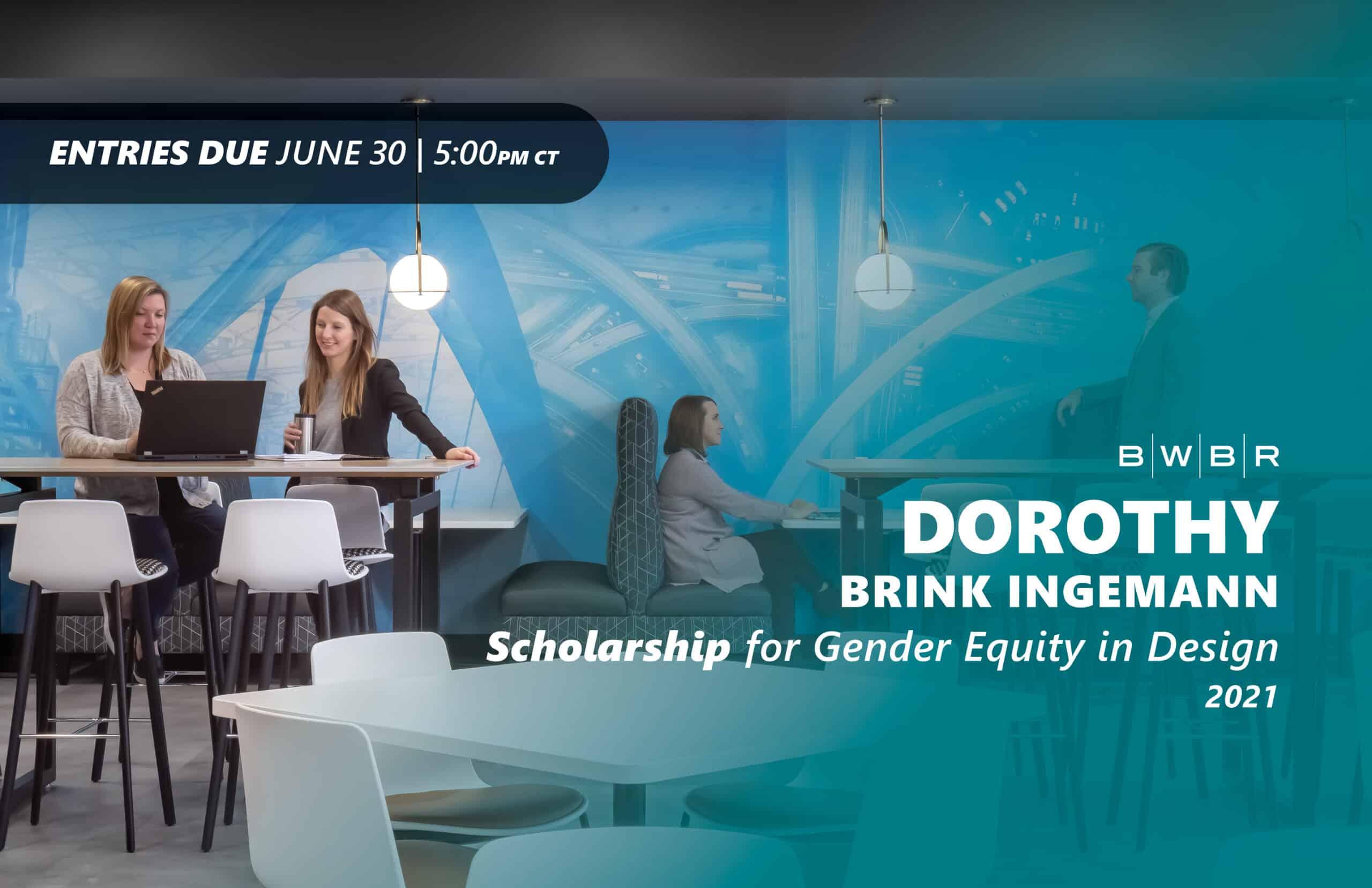 Dorothy Brink Ingemann Scholarship for Gender Equity in Design Submission Guide