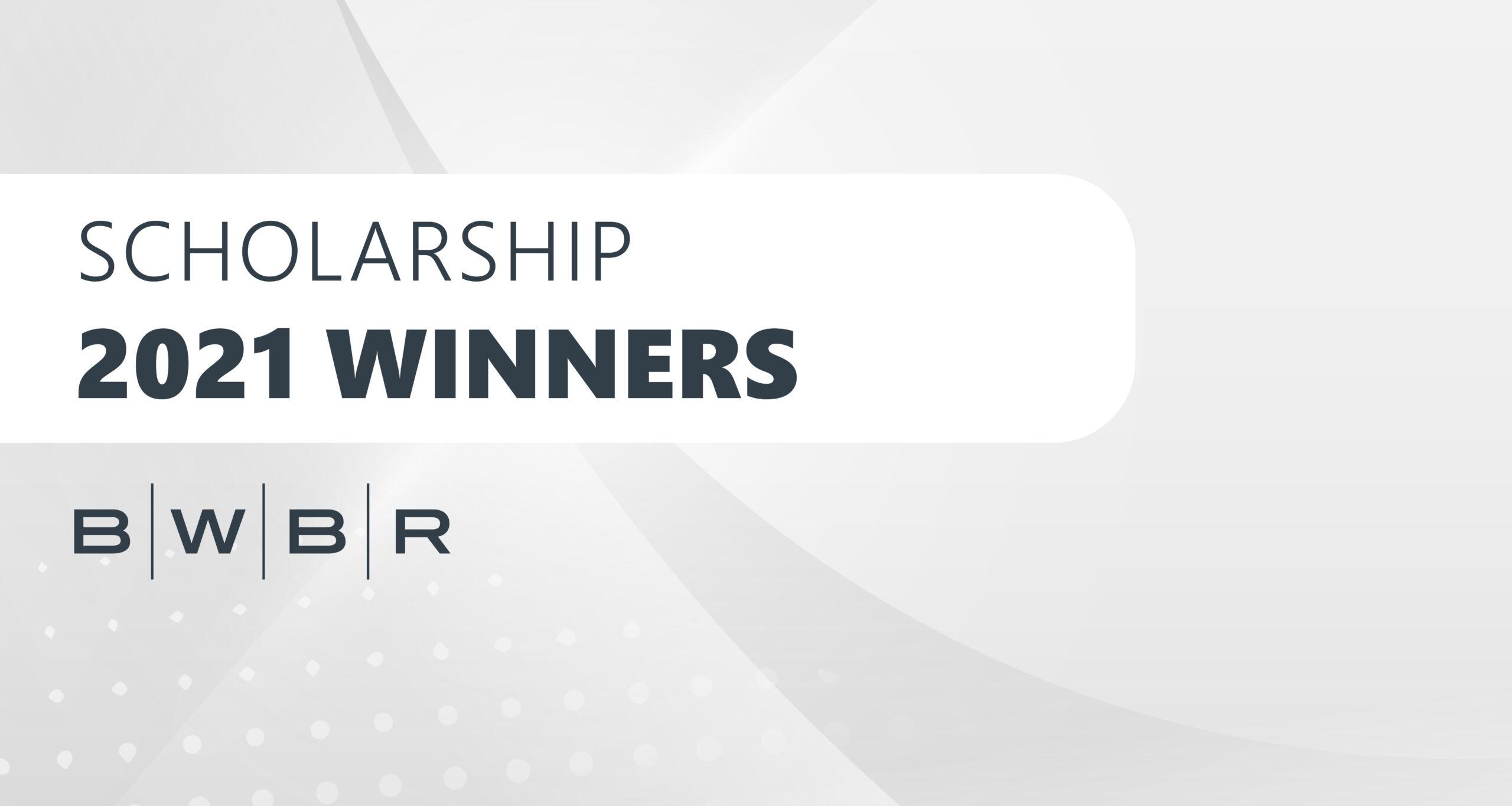 2021 BWBR Scholarship Blog Feature Image